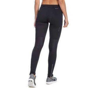 Nike • Dri Fit Black Zippered Legging Tights